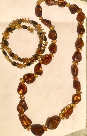 Продам янтарные украшения