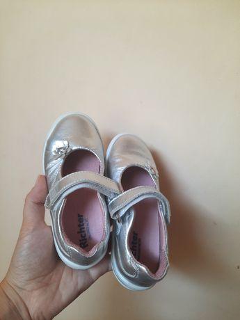 Pantofiori argintii de printesa