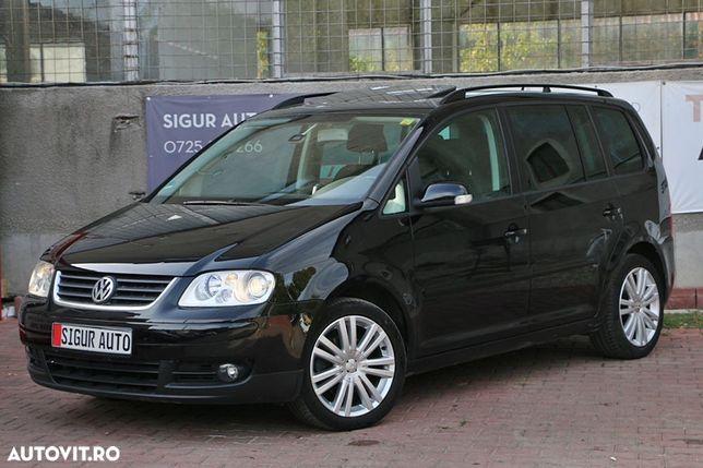 Volkswagen Touran vw touran highline2,0 diesel 7 locuri navigatie jante xenon rate