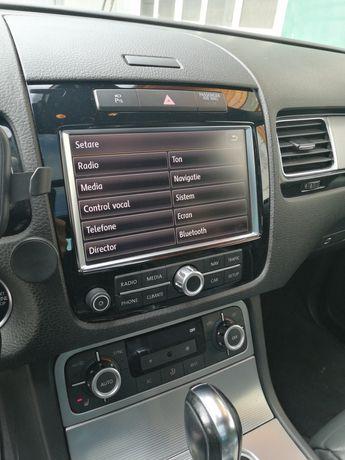 Webasto Eberspacher VW Touareg RNS850 meniu navigatie  romana harti