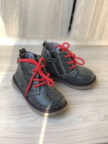 Ботинки новые детские 22