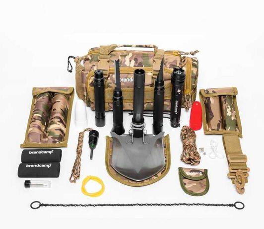 Многофункциональная Лопата BRANDCAMP BC-M-IV с набором выживания