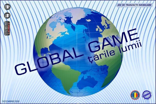 GLOBAL GAME țările lumii -Joc de societate, SIGILAT, fabricat handmade