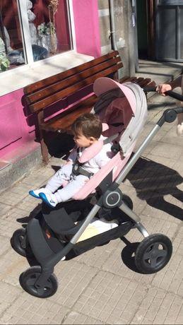 Бебешка количка STOKKE SKOOT V2-Отлично състояние.