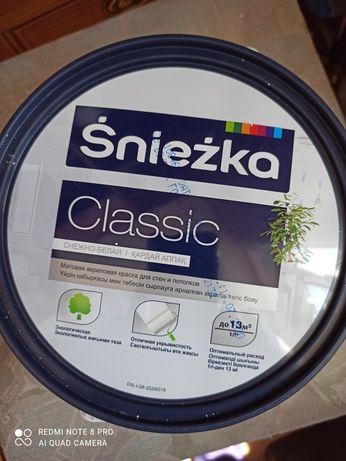 Продам краску водоэмульсионную Снежка, производства Польша 3,5литра
