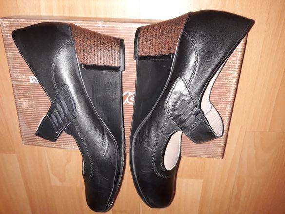 Нови обувки естествена кожа 38 номер