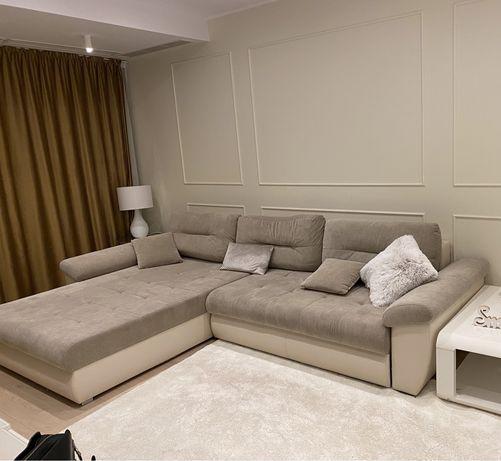 Vand canapea extensibila cu sezlong
