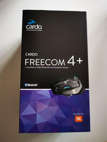 Cardo Freecom 4 + Plus Single Pack, Difuzoare JBL, Conferinta de pana