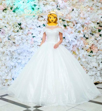 Срочно! Свадебное платье Белоснежка