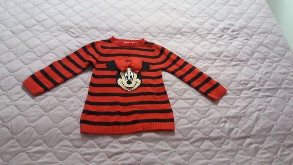 Пуловер с Мини Маус