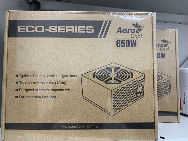 Блок питания 650w AeroCool ECO