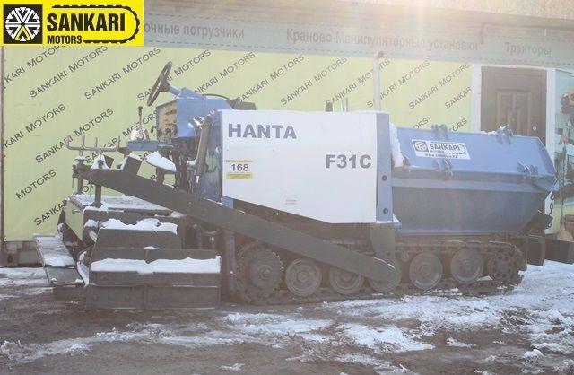 Асфальтоукладчик Hanta F31C
