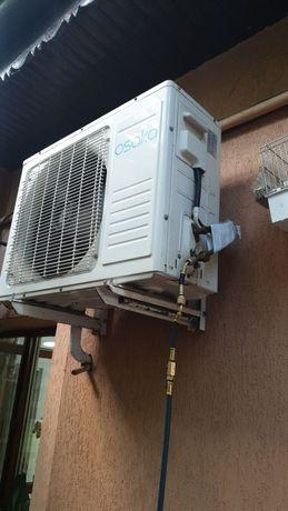 Încărcări cu freon aer conditionat  service revizii montaj aer conditi