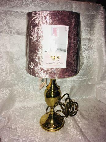 колекционерска настолна нощна лампа от бронз Marks and Spencer
