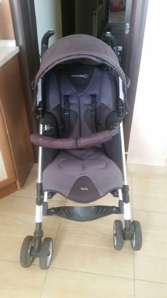 Комбинирана бебешка количка с кош за новородено Bebe Confort Loola
