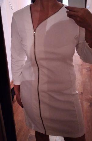 Белое новое платье