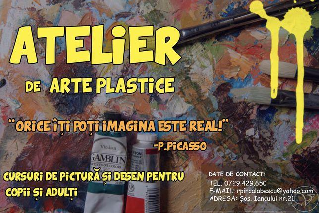 Cursuri de Arte Plastice!