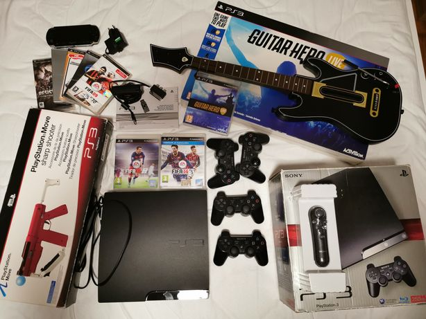 Pachet VIP PS3 250GB CFW EvilNat+accesorii+PSP 3004 CFW