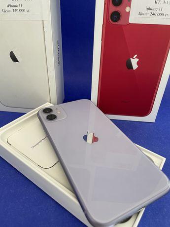 iPhone 11/ 64,128gb от 230.000тг