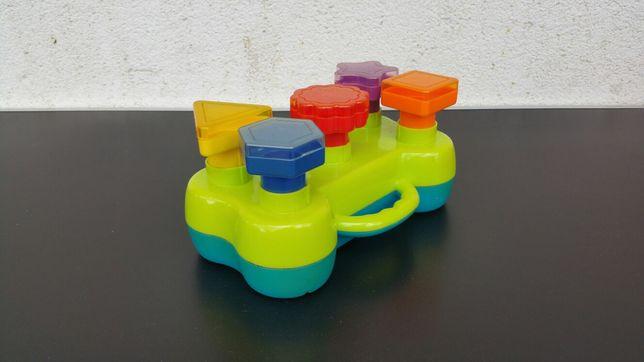 Jucarie - forme - geometrice - luminoase - sunete - copii - bebe