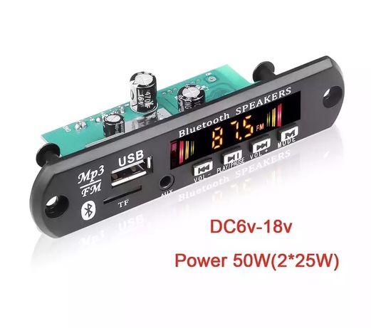 Modul amplificare, player mp3 usb, bluetooth, sd card, radio fm.
