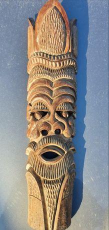 Стара уникална дървена маска от Камбоджа
