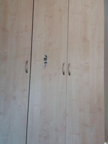 Шифонер вместе с двухместный кровать