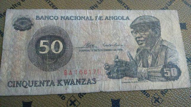 Bancnotă din Angola