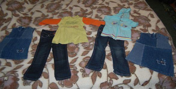 Лот от дрехи за близначки на 2-3 годинки