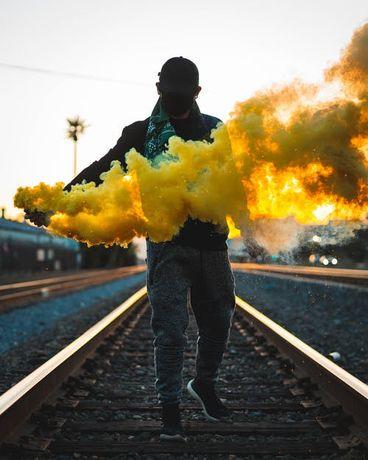 Fumigene Profesionale Sedinte Foto