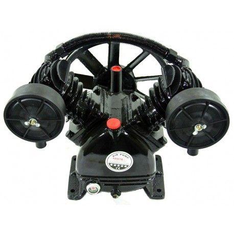 Cap compresor 2 pistoane 4.0kW 480L/min KraftProfesional KD1403