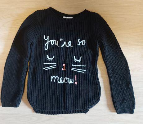 Pulover tricotat copii 4-6 ani