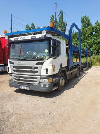 Transportor auto Scania P450+Lohr 1.23