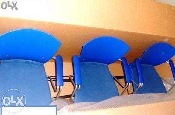Посетителски столове за чакалня 3в1.