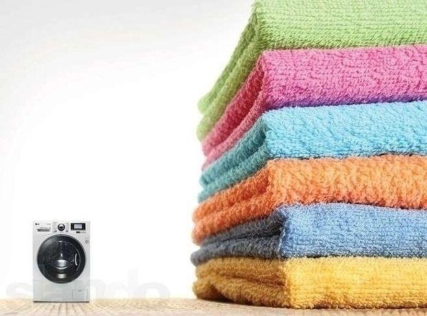 Стирка: пледы, одеяла, шторы (от 500тг. 1 кг)