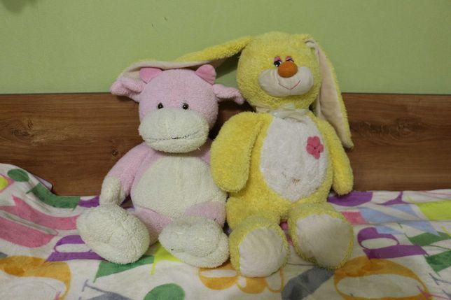 Мягкая игрушка Корова и заяц