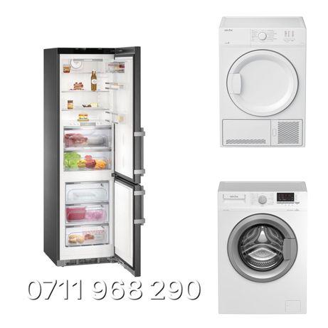 Reparatii uscatoare , frigider si masini de spalat rufe !