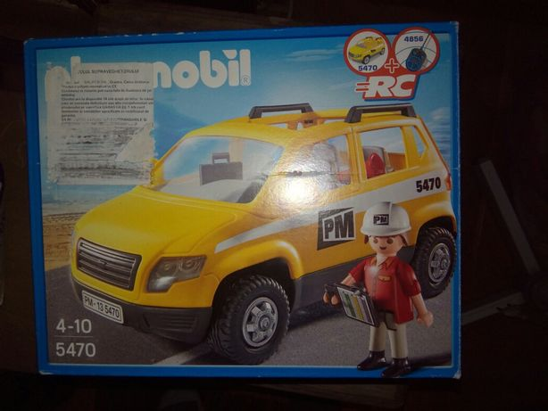 Playmobil masina supraveghetorului