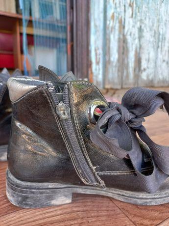 Обувь осенняя ботиночки