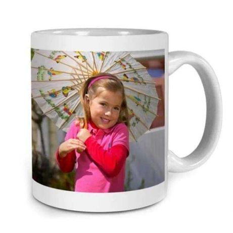 Чаша със снимка, надпис, лого