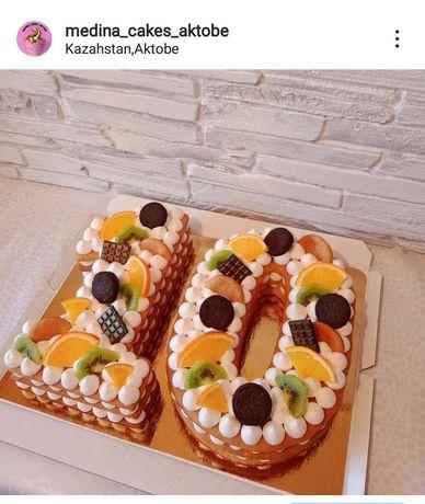 Торт цифра на заказ