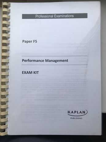 F5 Performance Management ACCA