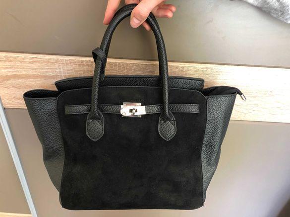 Черна дамска чанта MOHITO