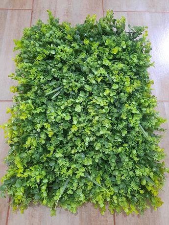 Panou verde artificial gard frunze iedera