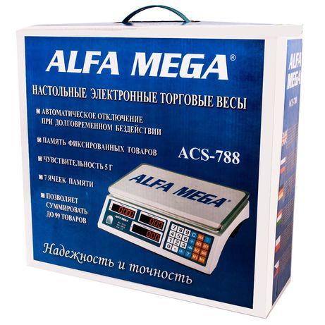 Весы продуктовые. ALFA MEGA до 40кг