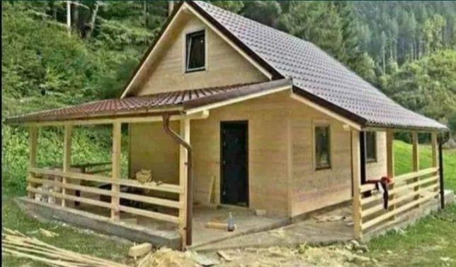 Van case de vacanță din lemn