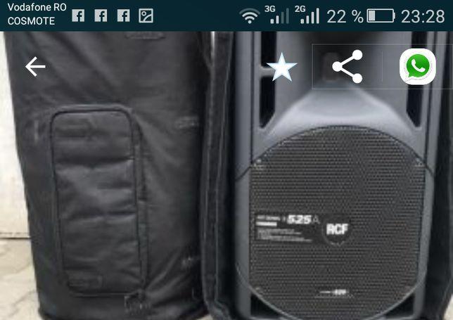 Boxe RCF 525a/Vând Schimb cu RCF TT active