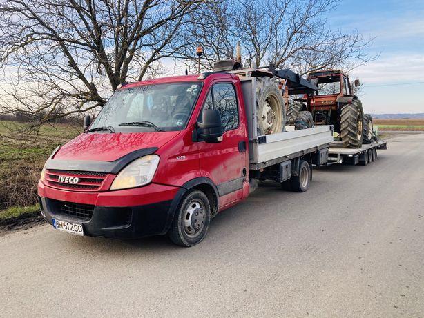 Transport, tractari tractoare, tractor, utilaj agricol, autoutilitare