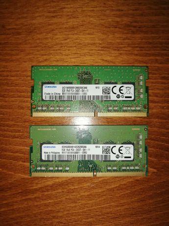 Рам памет за лаптоп DDR4 Samsung 2x8gb 2400mhz