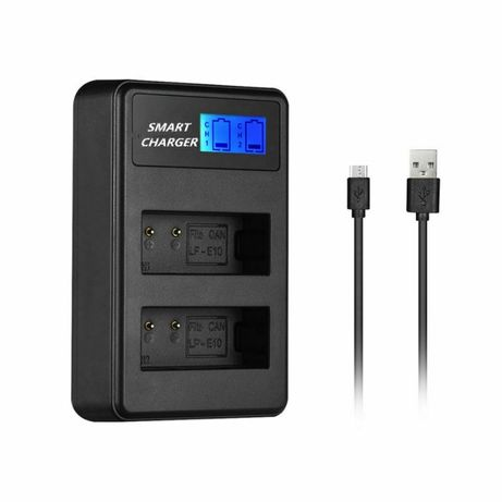 Двойно смарт зарядно LC-E10 за батерии LP-E10 за Canon